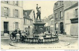 Place de la Forge à Saint leu la Forêt
